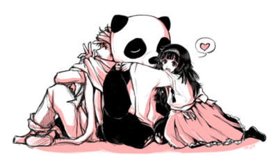 Panda and Friend